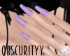 Lilac Nails