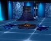 Blue Fireplace Dark