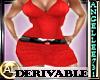 DERV RED DRESS