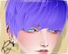 Indigo Blue Cas Hair