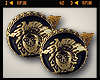 ♔ F. Versace Clip Ons