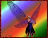 Crystal fae wings - blue