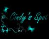 Teal Cindys Spot Sign