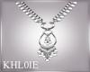K boho chic necklace