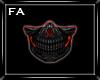 (FA)SkullNinjaMask Red