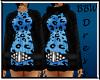 BBW Blue Swearter Dress