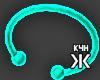 Neon bracelet blue