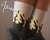 $ Add-ON Socks Flames