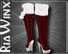 North Pole Fur Boots