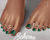 ṩ| Green Pedicure