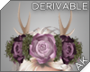 ~AK~ Antler Flower Crown