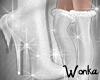 W° White Fox Boots