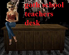 Goth School Teachersdesk