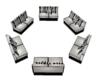 Black/White Round couch