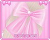 ♡ Pink Hair Bow ♡