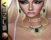 ~V~Scarab Emerald Set