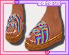 ➸ Sandals (Rainbow)