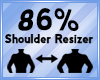 Shoulder Scaler 86%