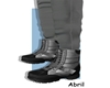Winter Snow Boot Gray