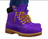 Purple Work Boots (M)