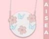 Kid~ Pink flower bag