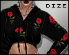 🎲 Roses - Black