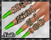Nails - Neon Green