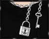 *D Lock & Key Necklace