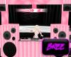 Pink + White DJ Booth
