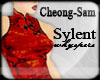 Sylent Wei Red Dress