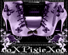 lilac butterfly boots