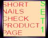 Short nails set1 NO6
