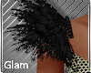 Gala Black Feathers