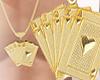 Gold Deck necklace
