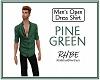 RHBE.PineGreenOpenShirt