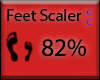 [NaiT] Feet Scaler 82%