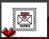(V) Love Notes Stamp