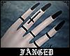 F | Goth Nails