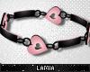 L: Heart Collar M P