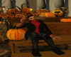 red and black fall outfi