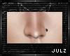 {J} Allie Nose Stud Blck