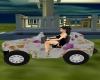 mini jeep flowerpower