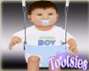 Baby Boy Max in Swing
