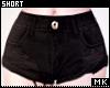 金. Black Short