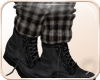 !NC Wooly Booties Plaid