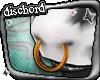  Ð  Bull Nosering Brass
