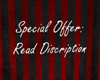 special offer WORDS post