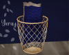 Basket & Pillows