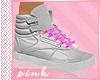 PINK-Grey Pink Reebok