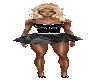 Diamond Mini Skirt (Blk)
